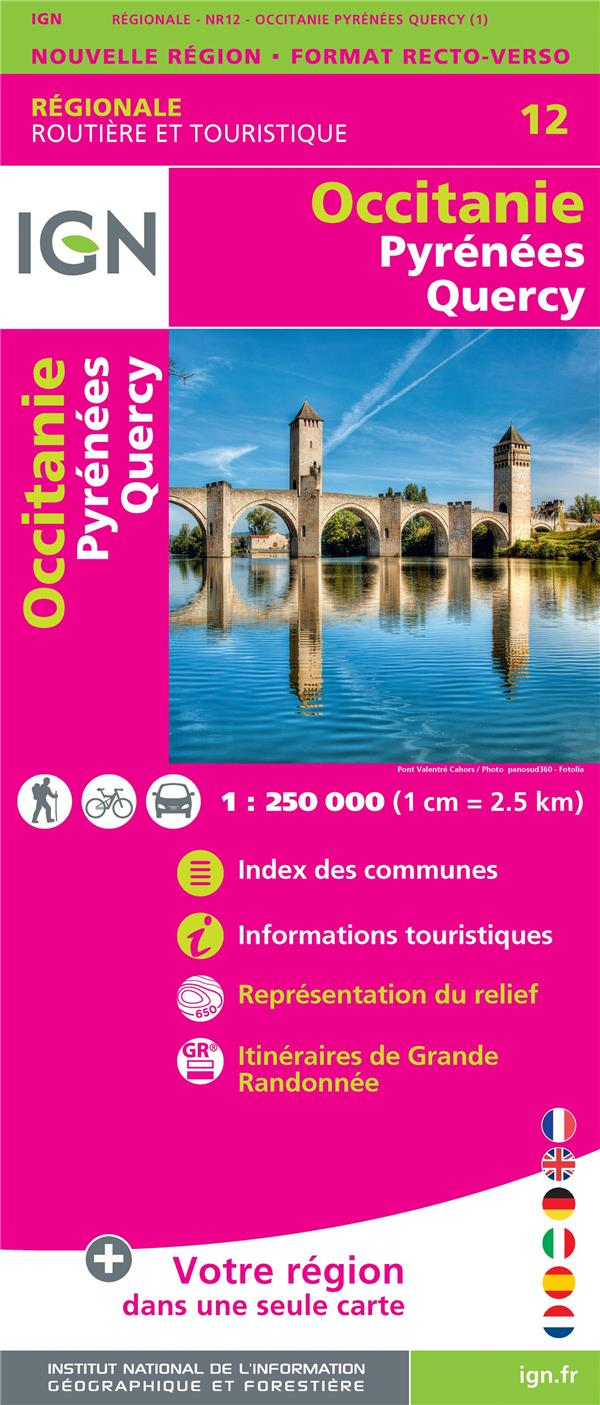 NR12 ; Occitanie, Pyrénées, Quercy