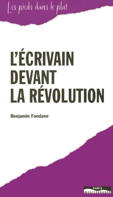 L'ecrivain devant la revolution