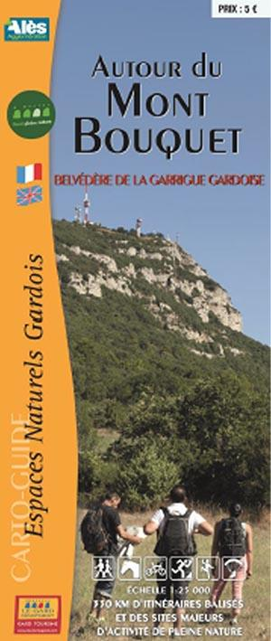Autour du Mont Bouquet ; belvédère, Garrigue, Gardoise