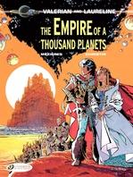 Vente Livre Numérique : Valerian & Laureline - Volume 2 - The Empire of a Thousand Planets  - Pierre Christin - Jean-Claude Mézières