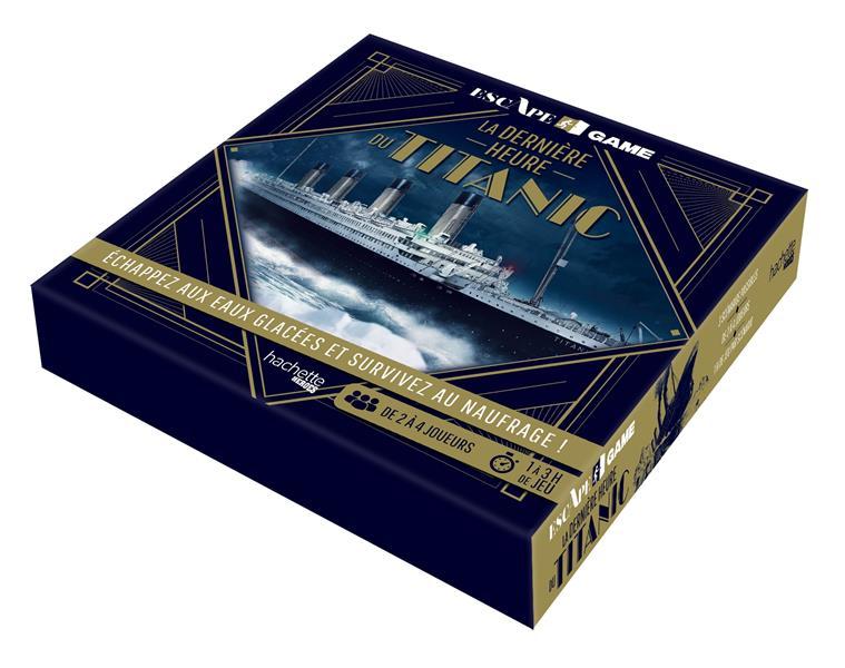 Escape game ; la dernière heure du Titanic ; échappez aux eaux glacées et survivez au naufrage !