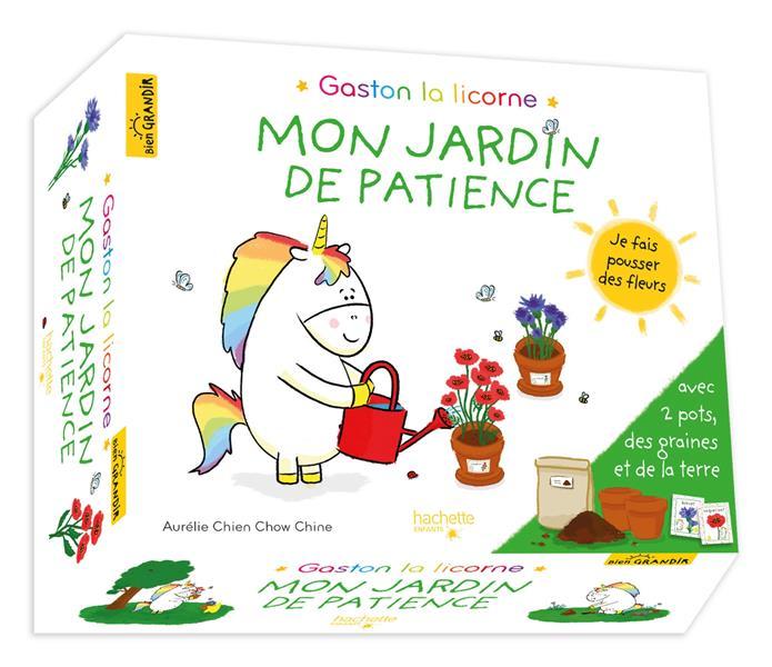 Gaston la licorne ; les émotions de Gaston ; mon jardin de patience