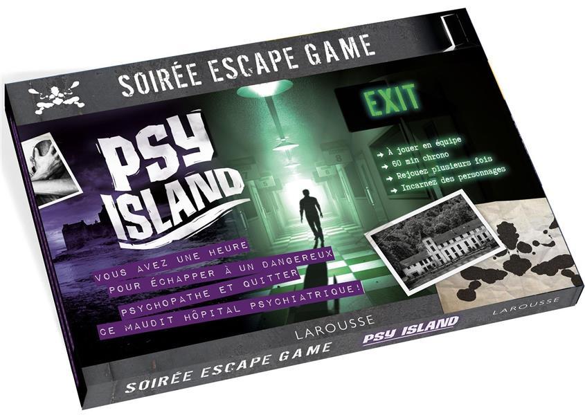Soirée escape game ; psy island