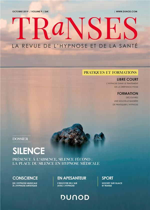 Transes n.9 ; octobre 2019 ; silence