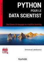 Vente Livre Numérique : Python pour le data scientist  - Emmanuel Jakobowicz