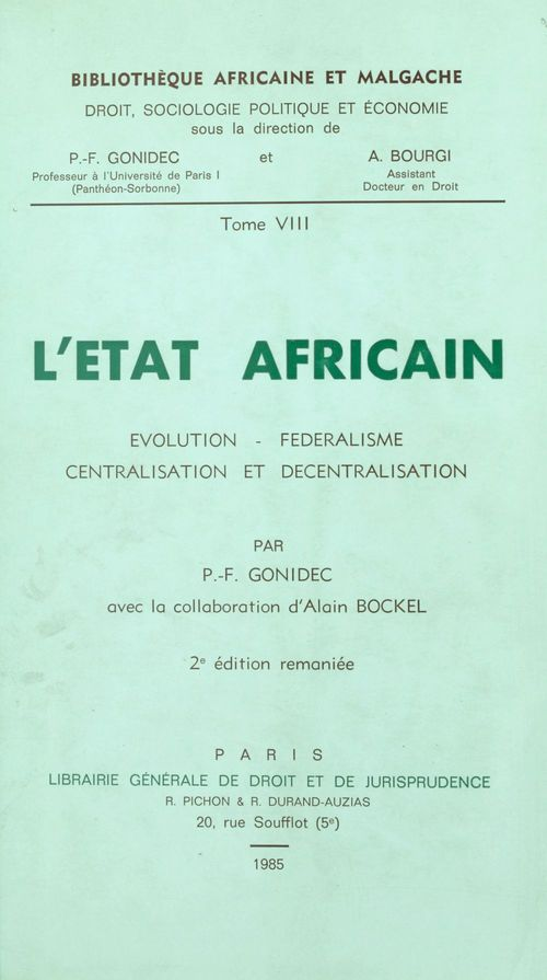 l'etat africain