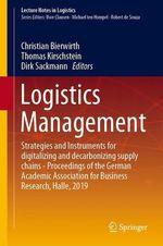 Logistics Management  - Christian Bierwirth - Thomas Kirschstein - Dirk Sackmann