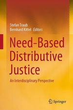 Need-Based Distributive Justice  - Bernhard Kittel - Stefan Traub