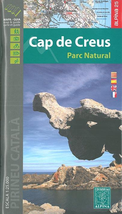 Cap de creus parc natural  1/25.000