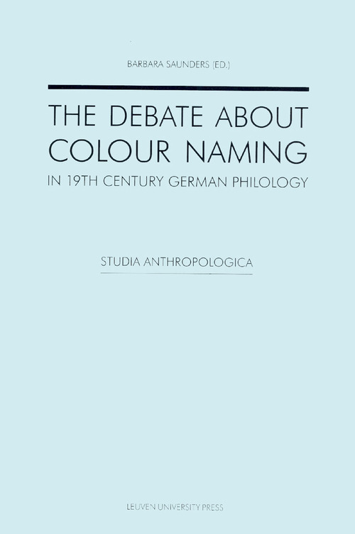 The debate about colour naming in 19th century German philology