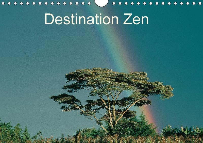 Destination zen calendrier mural 2018 din a4 horizontal - zen attitude qui ouvre les por