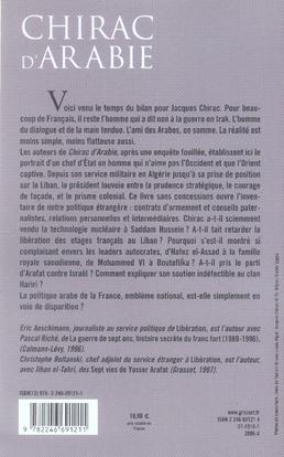 Chirac d'Arabie ; les mirages d'une politique française