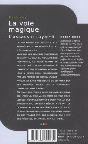 L'assassin royal T.5 ; la voie magique