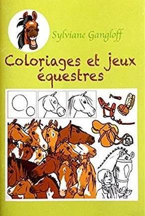 Coloriages et jeux équestres