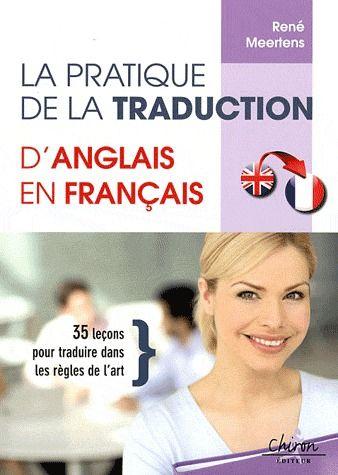Pratique de la traduction d'anglais en francais