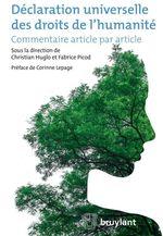 Vente EBooks : Déclaration universelle des droits de l'humanité  - Christian Huglo - Fabrice Picod