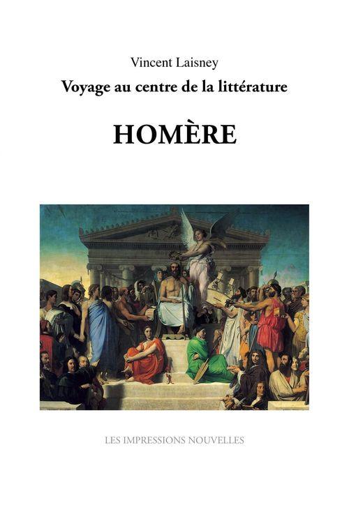 Sept génies : Homère  - Vincent LAISNEY