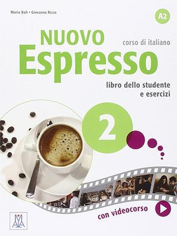 Nuovo Espresso 2 ; italien ; A2 ; libro studente e libro esercizi