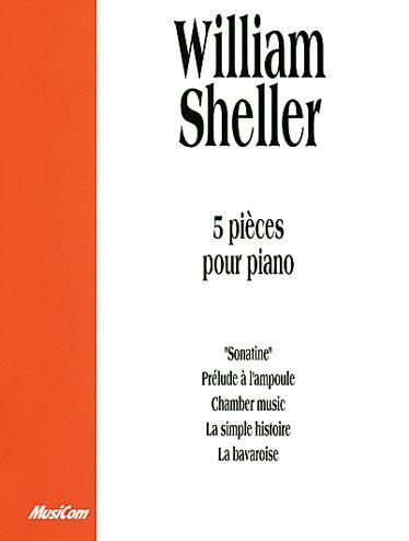 William Sheller ; 5 pièces pour piano