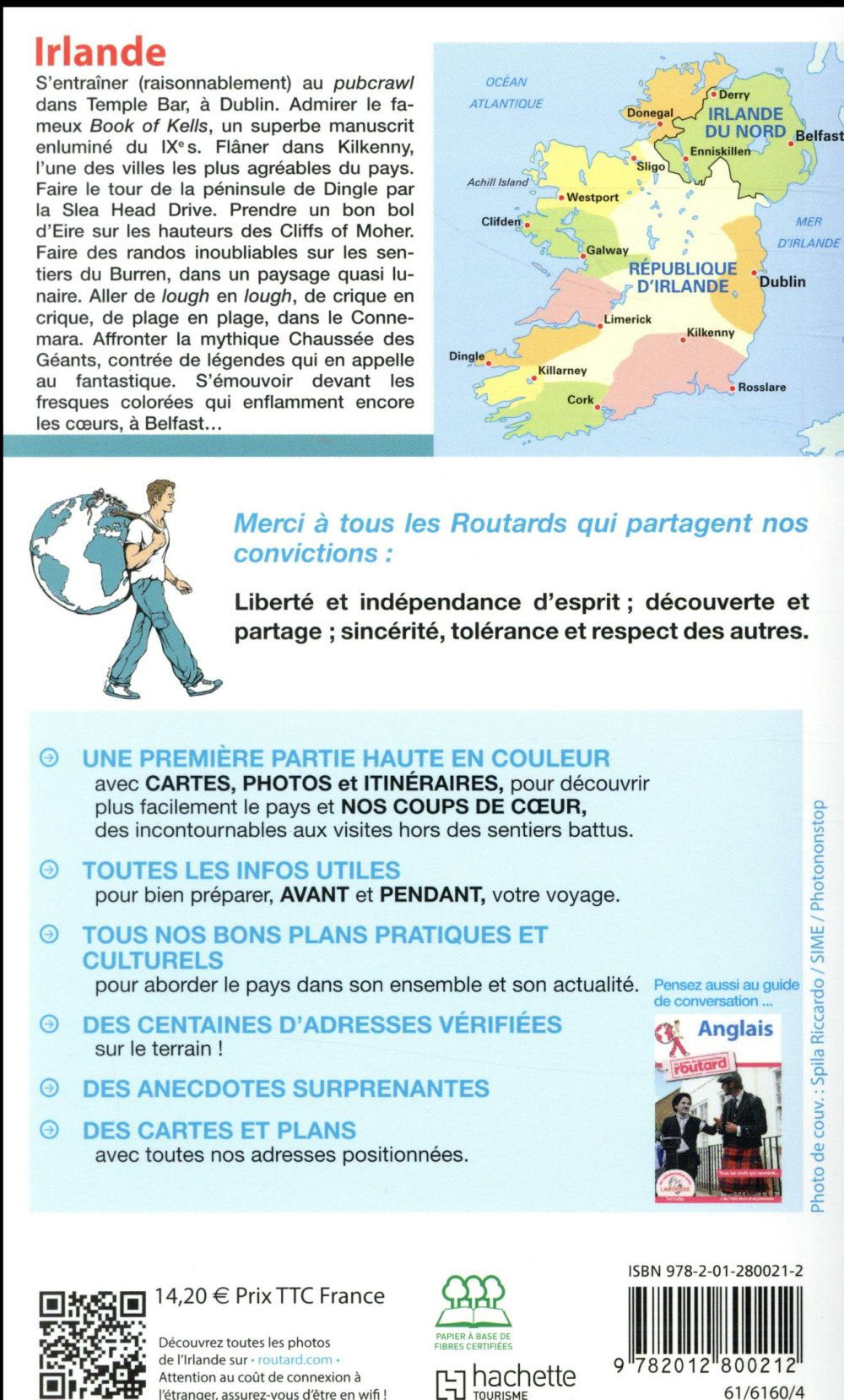 Guide du Routard ; Irlande (édition 2018)