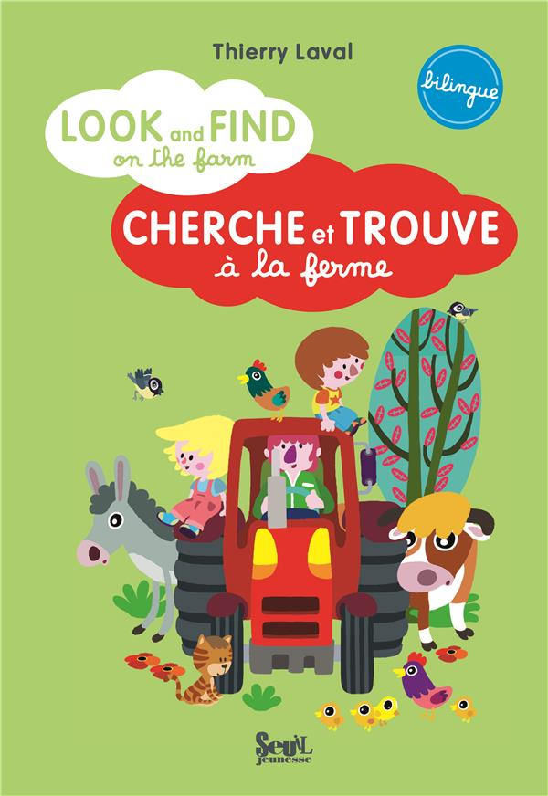 Look And Find On The Farm ; Cherche Et Trouve A La Ferme