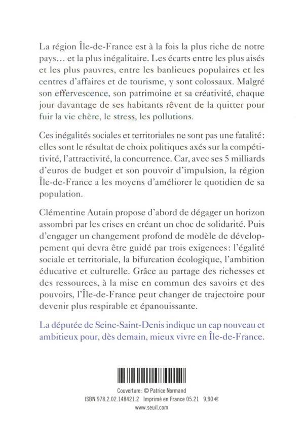 Pouvoir vivre en Ile-de-France
