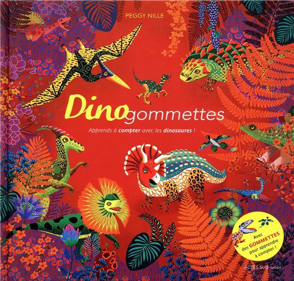 Dinogommettes ; apprends à compter avec les dinosaures !