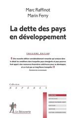 Vente EBooks : La dette des pays en développement  - Marc RAFFINOT - Marin FERRY