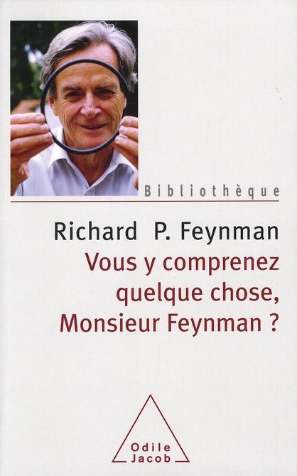 Vous Y Comprenez Quelque Chose Monsieur Feynman