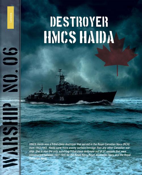 Destroyer HMCS Haida - Rindert van Zinderen Bakker - ebook