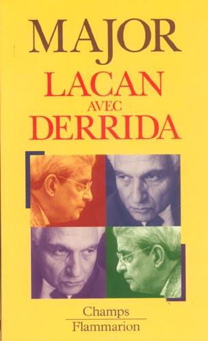 Lacan avec derrida