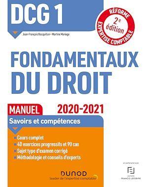 DCG 1 ; fondamentaux du droit ; manuel (édition 2020/2021)