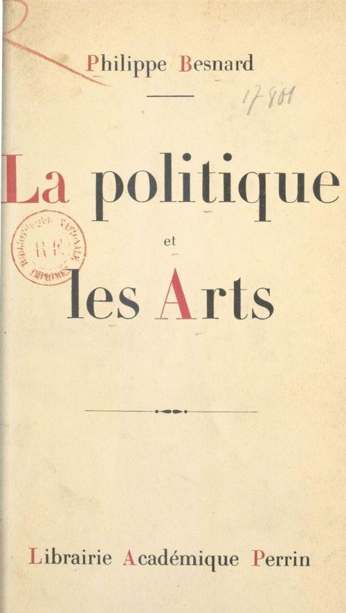 La politique et les arts