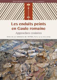 Revue archeologique de l'est n.31 ; les enduits peints en gaule romaine ; approches croisees
