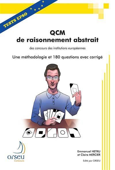 Qcm de raisonnement abstrait des concours des institutions europeennes