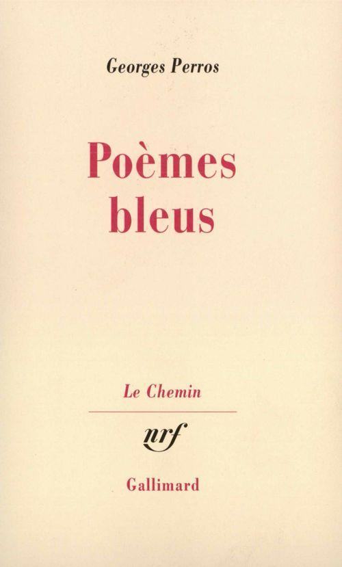 Poemes bleus