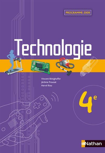Technologie ; 4eme ; Livre De L'Eleve (Edition 2009)