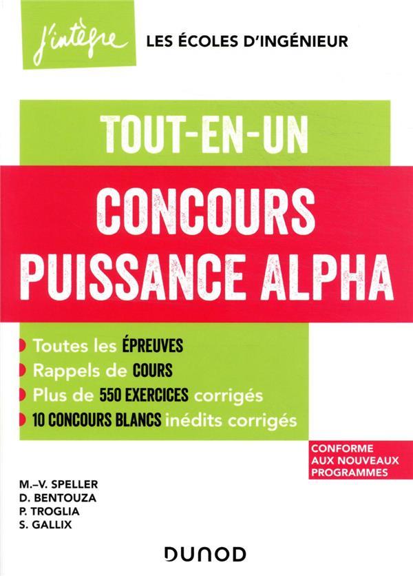 Concours Puissance Alpha ; tout-en-un (édition 2021/2022)