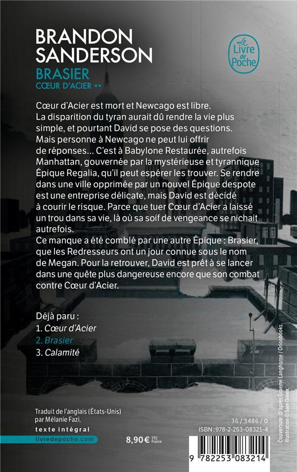 Coeur d'Acier t.2 ; brasier