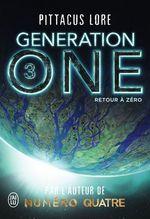 Vente EBooks : Generation One (Tome 3) - Retour à zéro