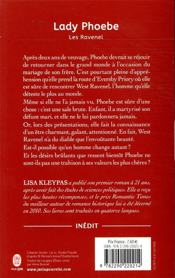 les Ravenel t.5 ; Lady Phoebe