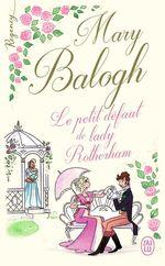 Vente Livre Numérique : Regency - Le petit défaut de lady Rotherham  - Mary Balogh