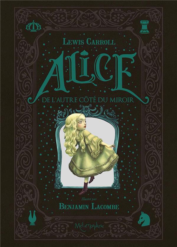 Alice au pays des merveilles ; de l'autre côté du miroir ; coffret