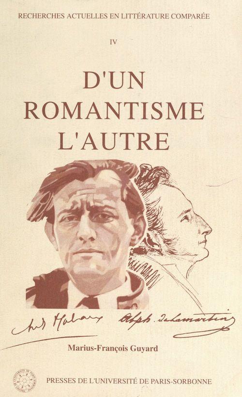 D'un romantisme l'autre