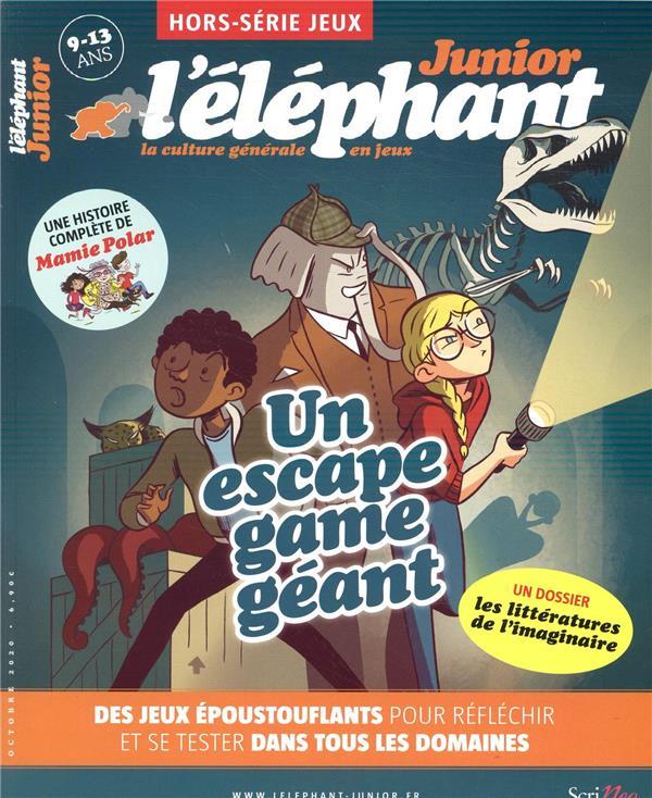 L'elephant junior hors-serie ; jeux