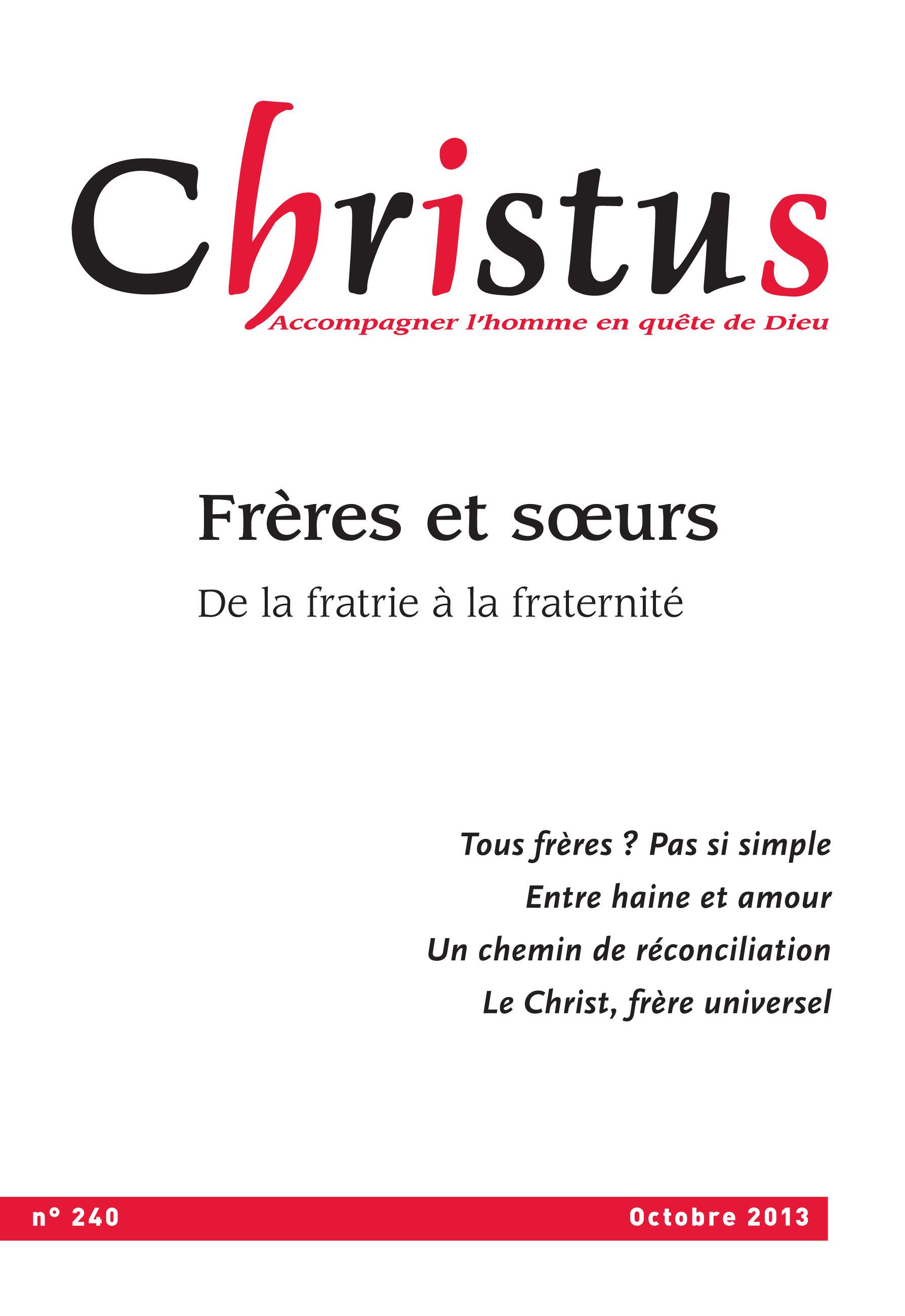 Christus Octobre 2013 - N°240