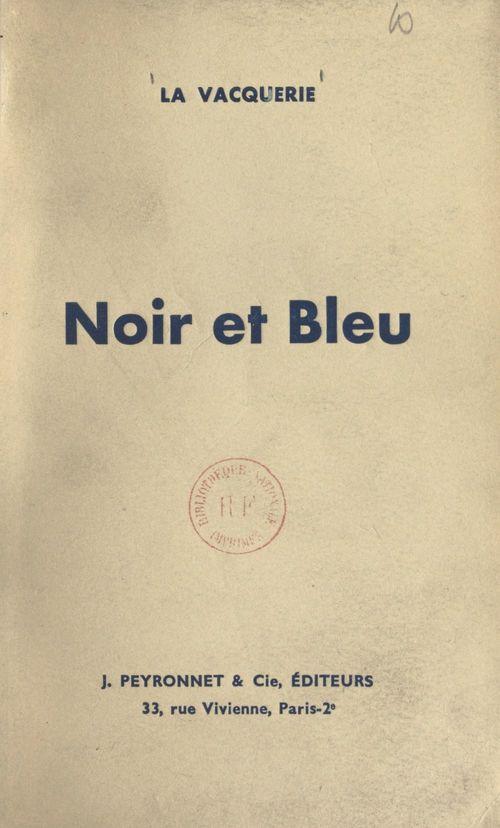 Noir et Bleu