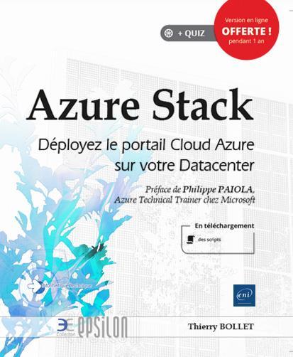 Azure Stack ; déployez le portail Cloud Azure sur votre Datacenter