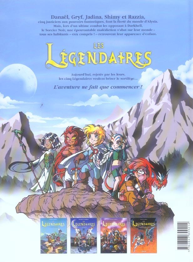 Les Légendaires T.4 ; le réveil du Kréa-Kaos