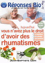 Vente EBooks : Aujourd'hui vous n'avez plus le droit d'avoir des rhumatismes  - Terra Media Jean-Baptiste Loin